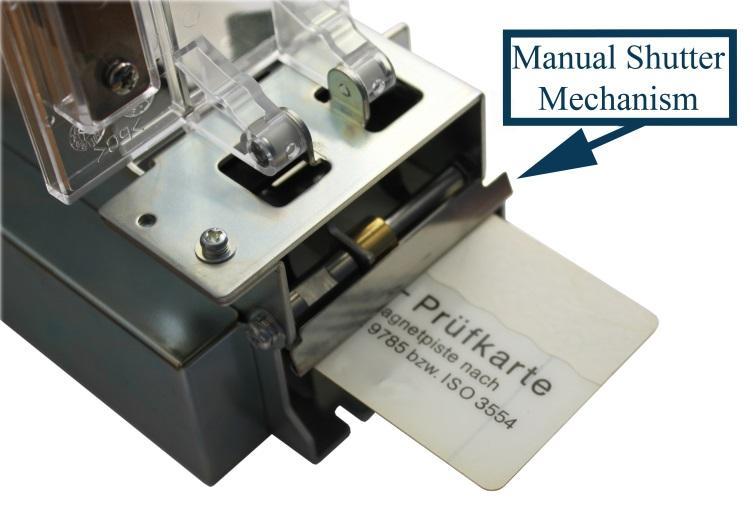Mechanical shutter